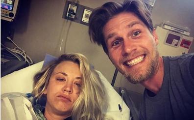 Kaley Cuoco acaba en el hospital durante su luna de miel