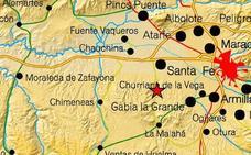 Registrado un terremoto de 2,1 grados de magnitud con epicentro en Santa Fe