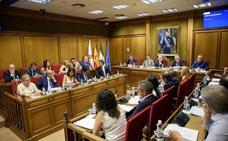 Diputación estrena el sistema de voto telemático en los plenos