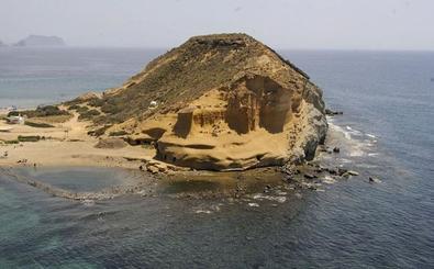 Y esta playa, ¿de quién es?: Almería y Murcia se disputan Cala Cerrada