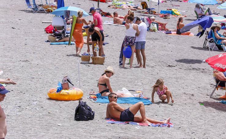 Encuéntrate en las playas de Almuñécar