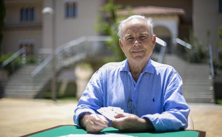 La historia de Gregorio López , el dueño del primer casino de Granada