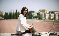 «Trabajo para que los que vengan detrás tengan muchas más oportunidades en su carrera deportiva»