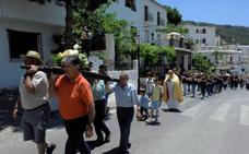 Bubión recupera las fiestas de San Antonio de Padua tras más de seis décadas de interrupción