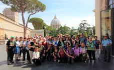 Vecinos de la Alpujarra peregrinan al Vaticano y Roma acompañados de su párroco