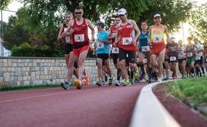 Grantham y Mahamud ganan la primera maratón en pista
