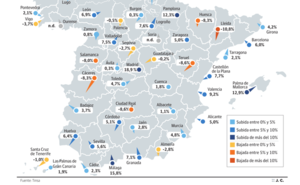 El metro cuadrado de vivienda cae desde 2008 un 41% en Jaén