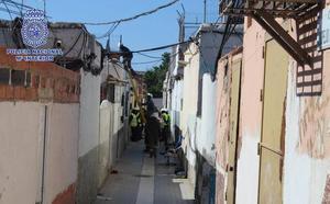 Macrooperación contra el tráfico de marihuana en Almería