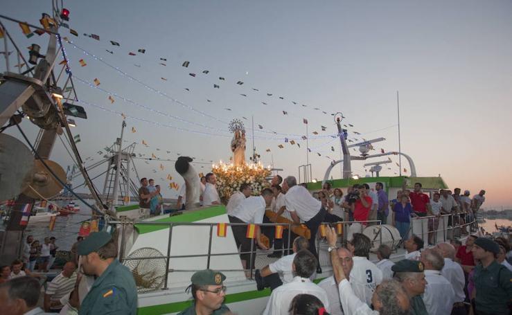 Fiestas en honor a la Virgen del Carmen en Motril