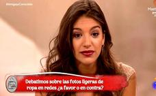 El enfado de Ana Guerra con 'Amigas y conocidas' e Inés Ballester por hablar así de su foto en bikini