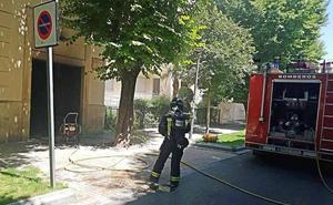 Fuego en la parroquia de San Miguel de Jaén