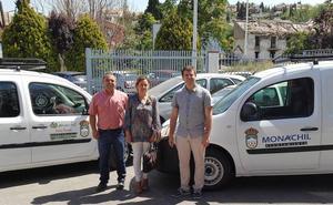 El Ayuntamiento de Monachil adquiere cuatro nuevos vehículos para renovar la flota municipal