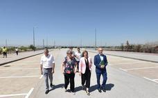 La Junta pone en servicio el aparcamiento de Juncaril para fomentar el uso del metro de Granada en detrimento del coche
