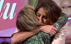 Las lágrimas de Paz Padilla en Sálvame al hablar con Terelu de su enfermedad