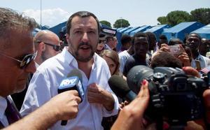 Crisis interna en el Gobierno italiano por la llegada de inmigrantes