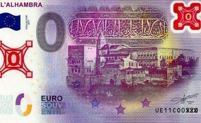 Lanzan los billetes de 0 euros y hay uno de la Alhambra: ¿para qué sirven?