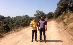 La Diputación de Jaén destina más de 370.000 euros en acondicionar la vía de acceso a la presa del Rumblar
