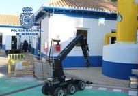 Así actuarían los TEDAX-NRBQ ante un atentado terrorista con una fuga de cloro gas en Granada