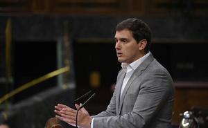 Rivera exigirá más dimisiones al PSOE si hay condena en el juicio de los ERE