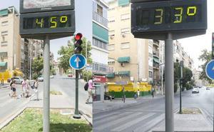 Doce grados menos que el día más caluroso de la historia de Granada, hace hoy justo un año