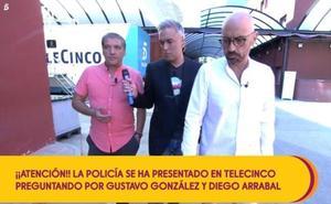 La Policía se presenta en Sálvame con una orden relacionada con Mariló Montero