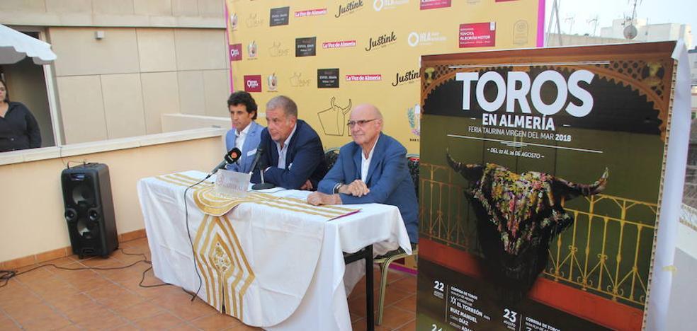 Almería presenta una feria taurina redonda y cargada de ilusión