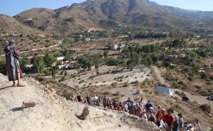 El laboratorio MEMOLab de la UGR muestra al público la excavación que desarrolla en Mojácar la Vieja