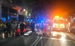 Un atropello revoluciona la Avenida de Salobreña de Motril