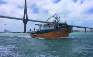 Universitarios andaluces se forman a bordo del buque oceanográfico del CEI·Mar