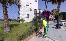 Una empresa limpia ya la zona de las playas de Motril y refuerza el baldeo por la noche