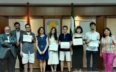 Cinco alumnos jienenses reciben el Premio Extraordinario de Bachillerato