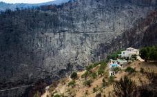 Lújar critica la falta de ayudas tras el gran incendio de 2015
