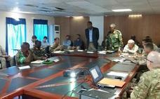 Oficiales españoles colaboran en las nuevas estructuras de las FAS somalíes