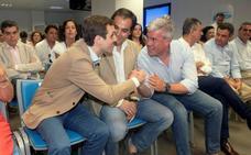 Fernández de Moya da su apoyo a Casado, al que ve «preparado para ser el presidente que necesita» el PP