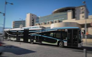 Los autobuses de la antigua LAC ya circulan en su nuevo recorrido por Granada
