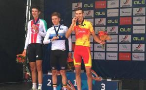 El ciclista almuñequero Carlos Rodríguez conquista el bronce en el Europeo júnior