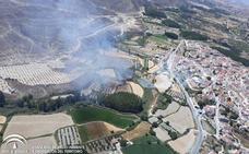 Controlado el incendio forestal declarado en Castilléjar