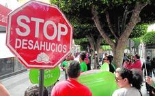 Más de mil familias de Jaén sufren un desahucio por no pagar el alquiler en tan solo cinco años