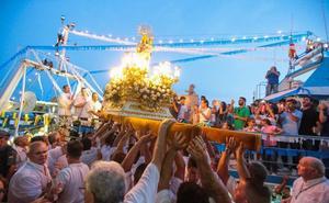Hoy procesiones de la Virgen del Carmen