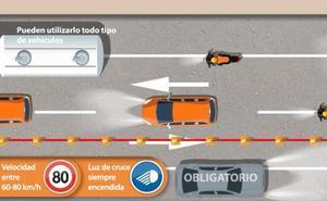 Así debes circular en el carril adicional para evitar multas de hasta 500 euros
