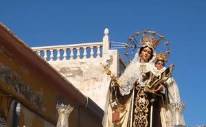 El barrio de Pescadería, un año más con la Virgen del Carmen en su festividad