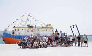 La universidad flotante atraca en el Puerto de Motril