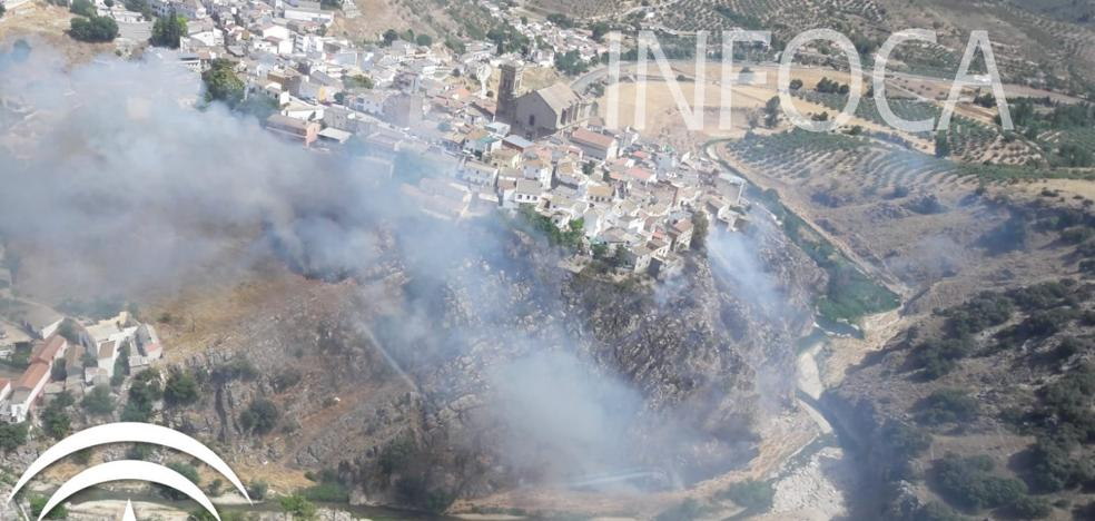 Extinguido el incendio forestal de Iznalloz