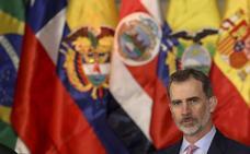 Felipe VI: «España pone en Iberoamérica corazón, talento y recursos»