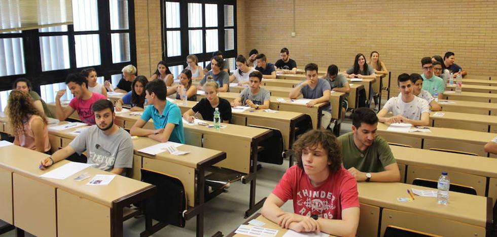Las carreras de la Universidad de Jaén con la notas de corte más altas