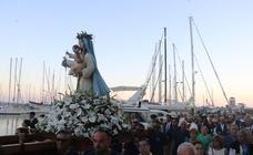 Las procesiones de la Virgen del Carmen en la capital y en toda provincia
