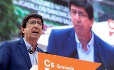 Juan Marín cree que las decisiones de Sánchez dejan «descolocada» a Susana Díaz