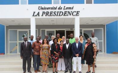 Una delegación de la UGR se encuentra de visita de trabajo en la Universidad de Lomé (Togo)