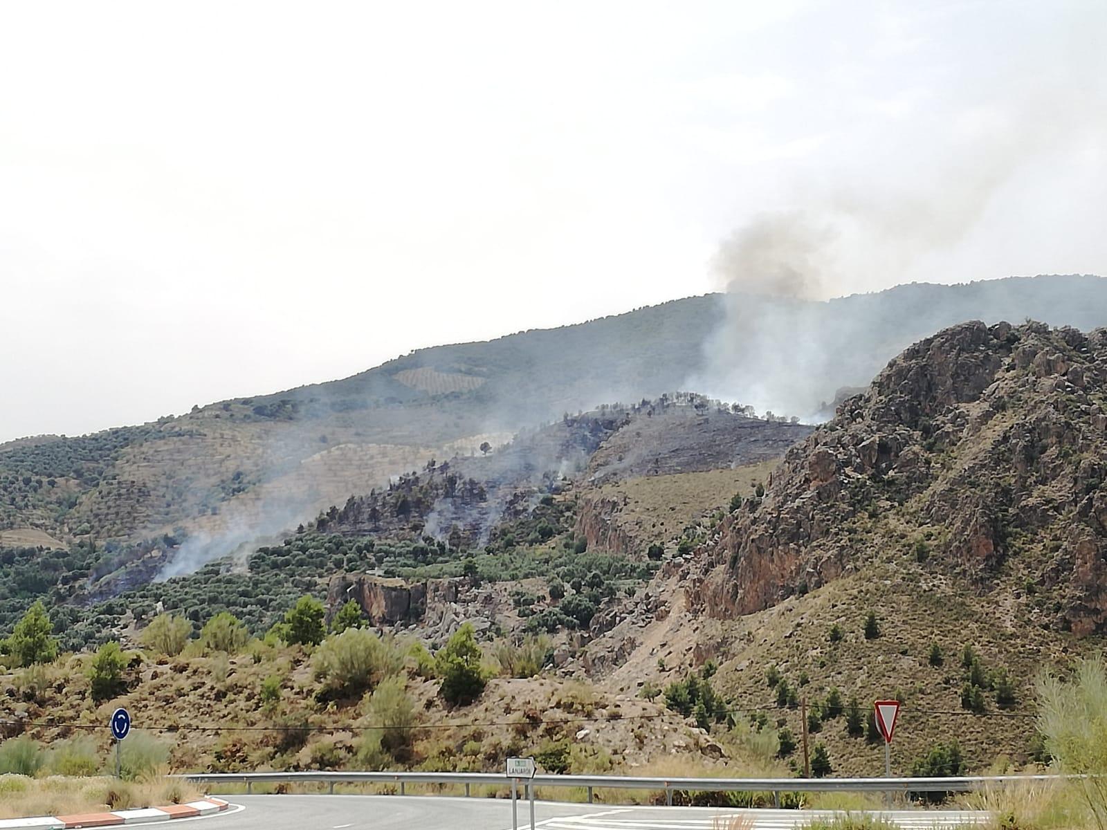 Fuego en Ízbor
