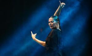 Sara Baras trae hoy a Almería 'Sombras', su espectáculo de aniversario